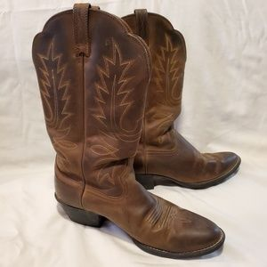 Ariat Cowboy Boots Brown Size 8.5